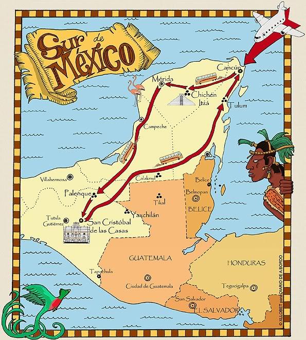 Tulum Mexico Mapa Mapa Mexico