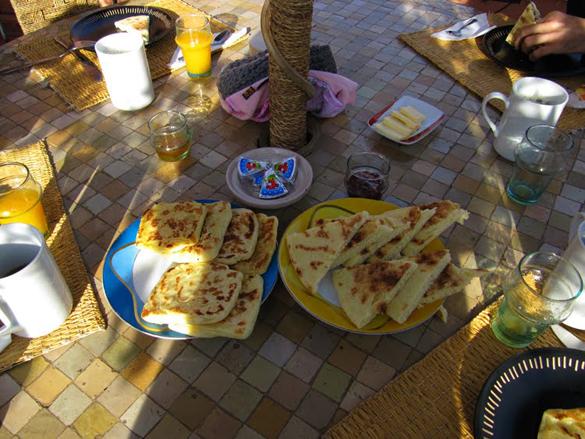 Desayuno Riad Miski, Marrakech