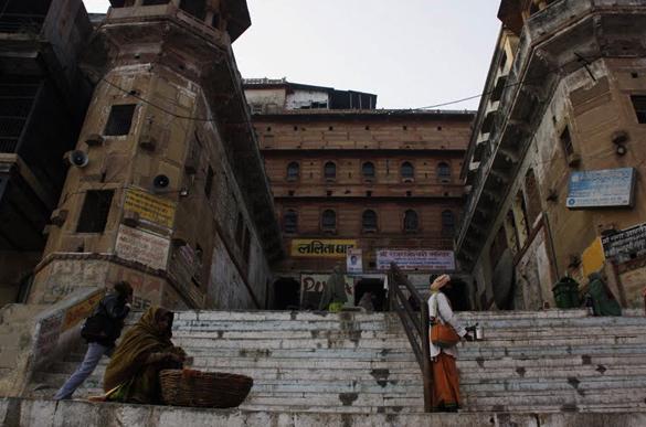 Lalita Ghat Varanasi, India