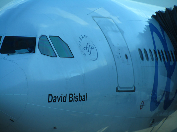 Avión David Bisbal Air Europa