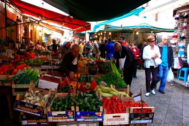 Mercado Ballaró Palermo