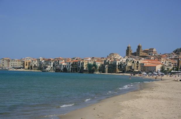 Playa de Cefalú, Sicilia