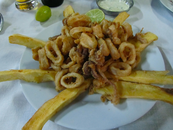 Chicharron calamares