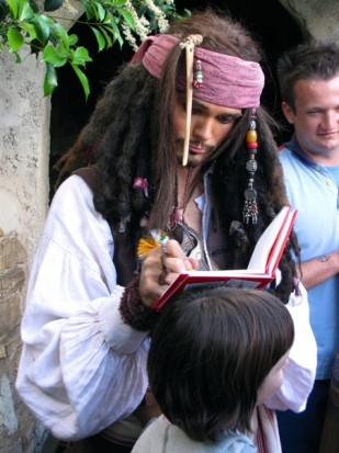 Disneyland Paris Jack Sparrow