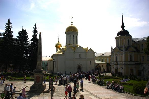 monasterio de la Trinidad de San Sergio