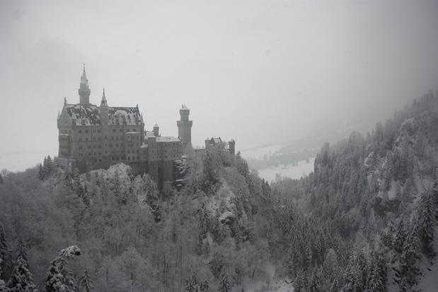 Neuschwanstein o el castillo más famoso de Alemania