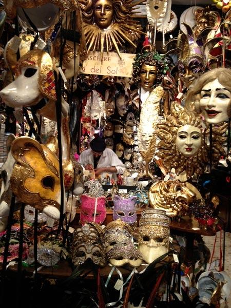 Qu ver y hacer en venecia con tres d as - Mascaras de carnaval de venecia ...